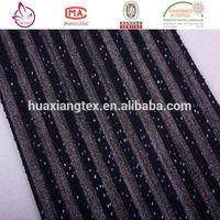 cheap price stripe wholesale sequin fabric india