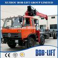8 ton hidráulico braço pequeno guindaste com motor a diesel para venda sq8sa3