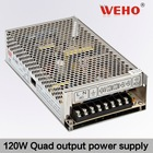 Best price 120W Quad output switching power supply modes