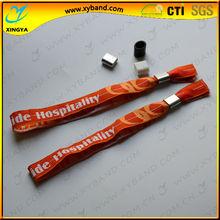 Promotional cheap charm school wristband