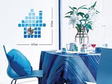 dining room place a beautiful wall clock Reloj de pared de papel de bricolaje