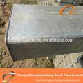 Bs1387 mergulhado quente de carbono galvanizado quadrados/tubulação de aço retangulares/tubo