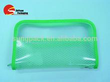 Embossed PVC Bags Personalized Platic Bags Cosmetic Zipper Bags