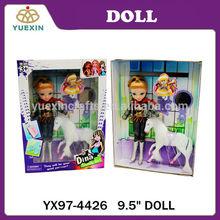 Lifelike New Baby Doll, 9.5 inch Beautiful Doll Set