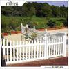 PVC Fence For Outdoor Garden Fence Decorative Garden Fence