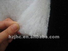 Eco-friendly soft polyester silk quilt batting