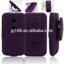 new product hard case holster kickstand belt clip case for Motorola Defy mb525