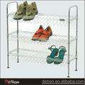 economia de espaço generoso açoinoxidável sapato rack