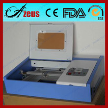 2015 Mini type arts/crafts used laser engraving machine for wood products