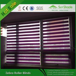 popular good quality elegant zebra roller blinds