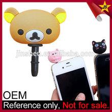 Custom Earphone Jack Plugs Mobile Phone Cute Accessories