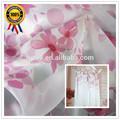 tela textil factorys venta al por mayor de seda impresa tela de gasa para la manga larga blusa de gasa