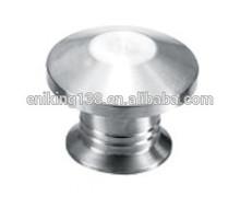 fashional type polish finish aluminum mushroom door knob