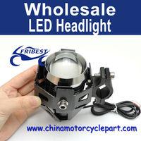 PC U5 125W 3000LM Waterproof Motorcycle LED Headlight High Power Spot Light