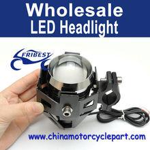 Pc U5 125 W 3000LM étanche moto LED phares haute puissance Spot Light