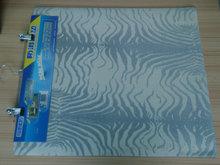 elegant patterned design carpet Rubber Floor Mat with flocked Fabric surface