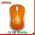 shenzhen fábrica preço de venda quente 3d bonito optical mouse com fio