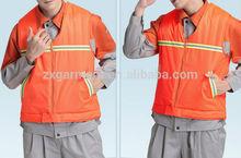 cotton polyester Work vest