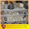 Animal stone bird owl carving sculpture