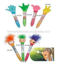 novelty plastic finger ball pen