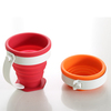 180cc collapsible silicone folding mug cup