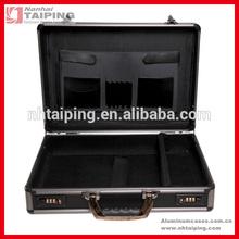 "17"" aluminum laptop attache case, hardsided briefcase"