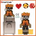 Zumex licuadora, exprimidor de naranjas automático de la máquina, extractor de jugo de procesamiento de color naranja y los tipos de procesamiento industrial de exprimidor de naranja