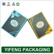 Decorative Polka Dots Cardboard Gift Soap Packaging Boxes