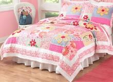 Full color print microfiber filling quilt/patchwork quilt comforter