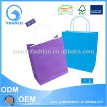 Custom Printing gorgeous design gift branded paper bag with glitter finishing
