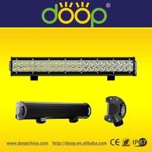 Best selling Car accessories 126w led work light bar, 20inch 9-32v off road led light work bar, 126 watt led work light bar