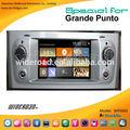 Fiat grande punto gps rds bluetooth tvipod canbus azul& me aux usb espejo enlace externo de dvd