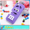 Fashion soft silicone mobile cases cover for iphone 5 6