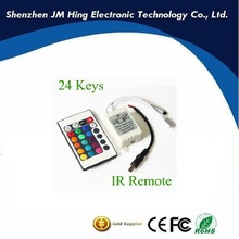 24 key IR Remote Controller For RGB 5050 3528 Led Light Strip