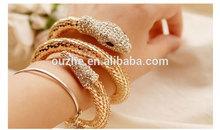 oro 14k bracciale serpente