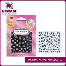 Newair 2D black ink nail arts designs