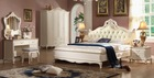 hot sale antique white luxury royal bedroom furniture set