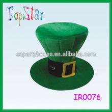St Patricks Day Green Top Hat/Green Leprechaun Top Hat Adults Fancy Dress St Patricks Day Irish Costume Hat