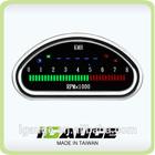 0-8000 RPM Muiti Function Digital Speedometer and Tachometer Motorcycle Gauge