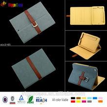"Custom ""8"" tablet pc case for ipad mini 2 pu leather cover"