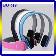Smart Wireless Bluetooth Headset/Wireless Bluetooth Headphone BQ-618 V3.0
