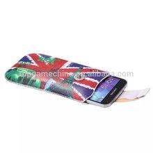 uk flag design leather Case with Credit Card Slots & Belt for iPhone 6