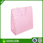 pp woven colorful shopping suit bag for promotion