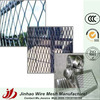 Decorative expanded diamond security wire mesh for fencing