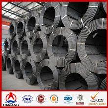 zinc coating iron wire size