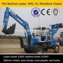brand new backhoe,high 2 wheel drive,backhoe excavator