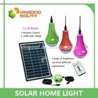 High quality led light 3*3W solar panel 12 W solar home lighting system