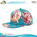 Impresión de la moda del bordado de las mujeres de la juventud snapback hat/cap