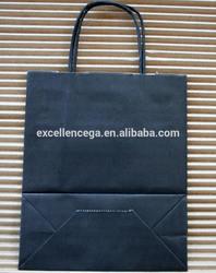Popular folded shopping paper bag