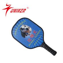 New New ,Uniker Brand cute professional Pickleball paddle game paddle hollowball paddle ball
